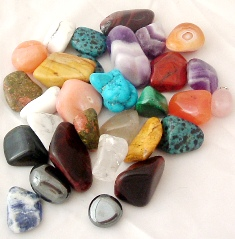 Mixed Bag Tumblestones 100grms