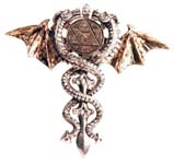 Sacred Dragon Amulet For Psychic Protection.