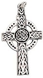 High Celtic Cross Charm for Guidance & Protection