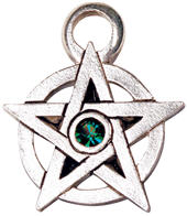 Jewelled Pentagram to Support Magickal Intention