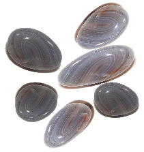 Multi Banded Agate Tumblestones 50grms
